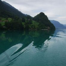 On the lakes - Brienz and Thun
