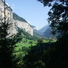 Lauterbrunnen and Trummelbach