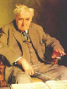 Portrait of Vaughan Williams by Sir Gerald Kelly, painted in 1958-61 (EMI)